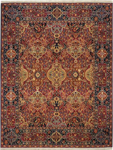 Court Runner Area Rug (English Manor Hampton Court Rug Rug Size: Runner 2'6