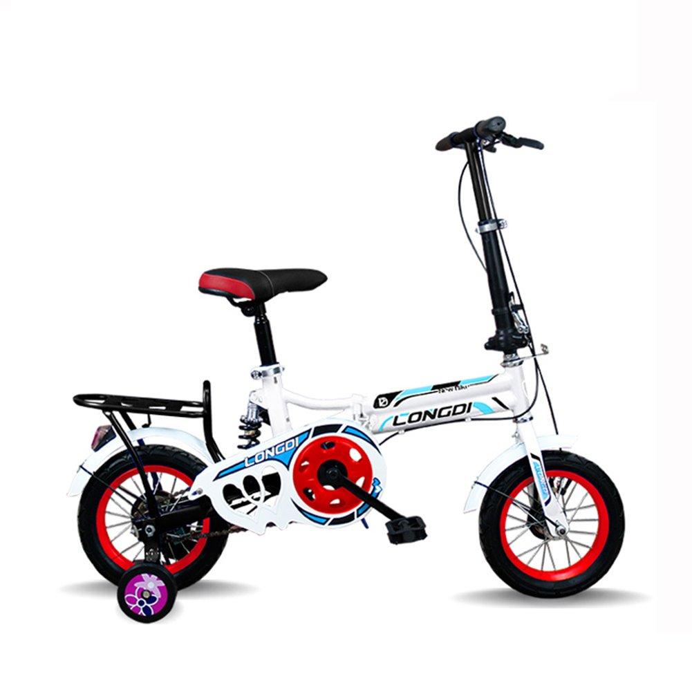 XQ 子供の自転車の前と後の超軽量のポータブル自転車男性と女性の学生の自転車 子ども用自転車 ( 色 : ピンク ぴんく , サイズ さいず : 16-inch ) B07CJYM7X7 16-inch|ピンク ぴんく ピンク ぴんく 16-inch