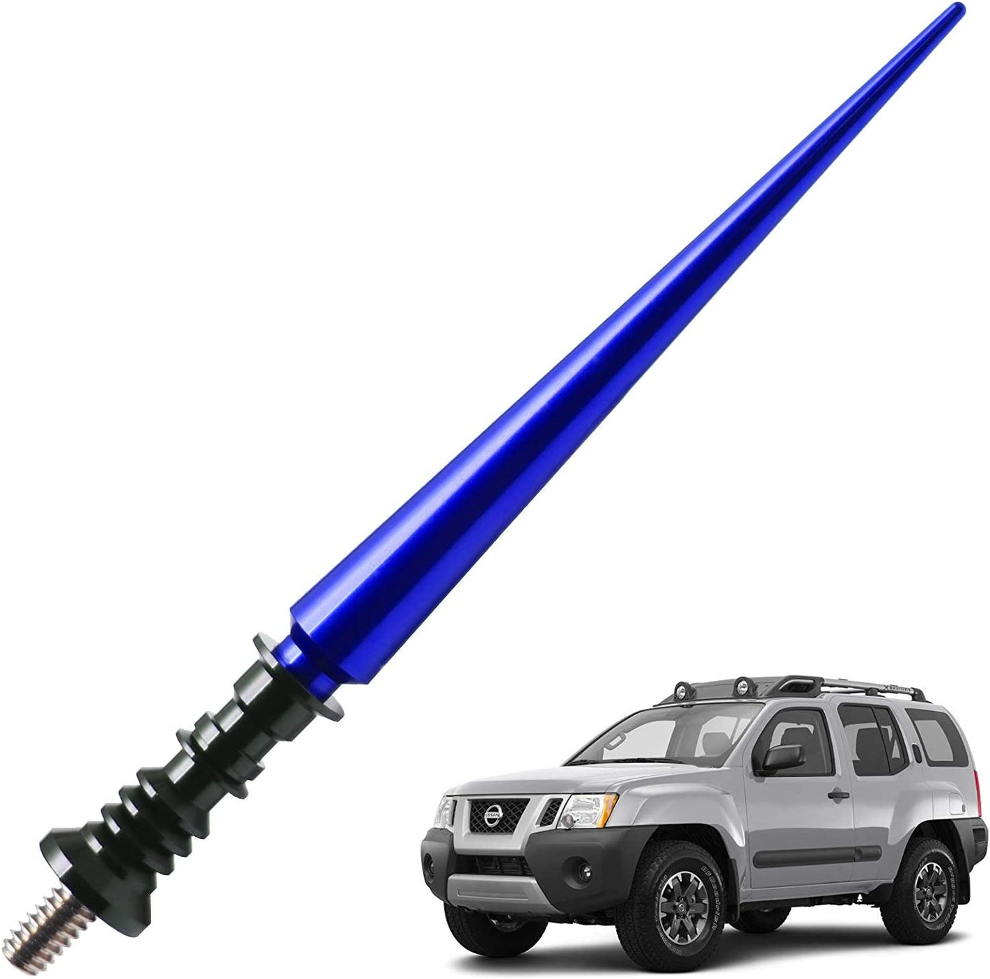 5.25 inches-Blue JAPower Replacement Antenna Compatible with Dodge Nitro 2007-2010