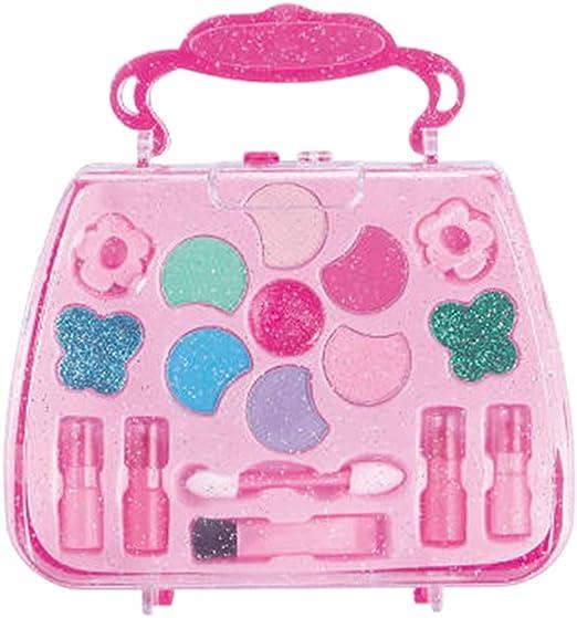 YH Kit de Maquillaje para niñas Cosméticos de Moda Juguetes de Maquillaje Niños Juegos de imaginación Juego de Maquillaje para niñas Cosméticos Belleza Juguetes de Seguridad Herramientas: Amazon.es: Hogar