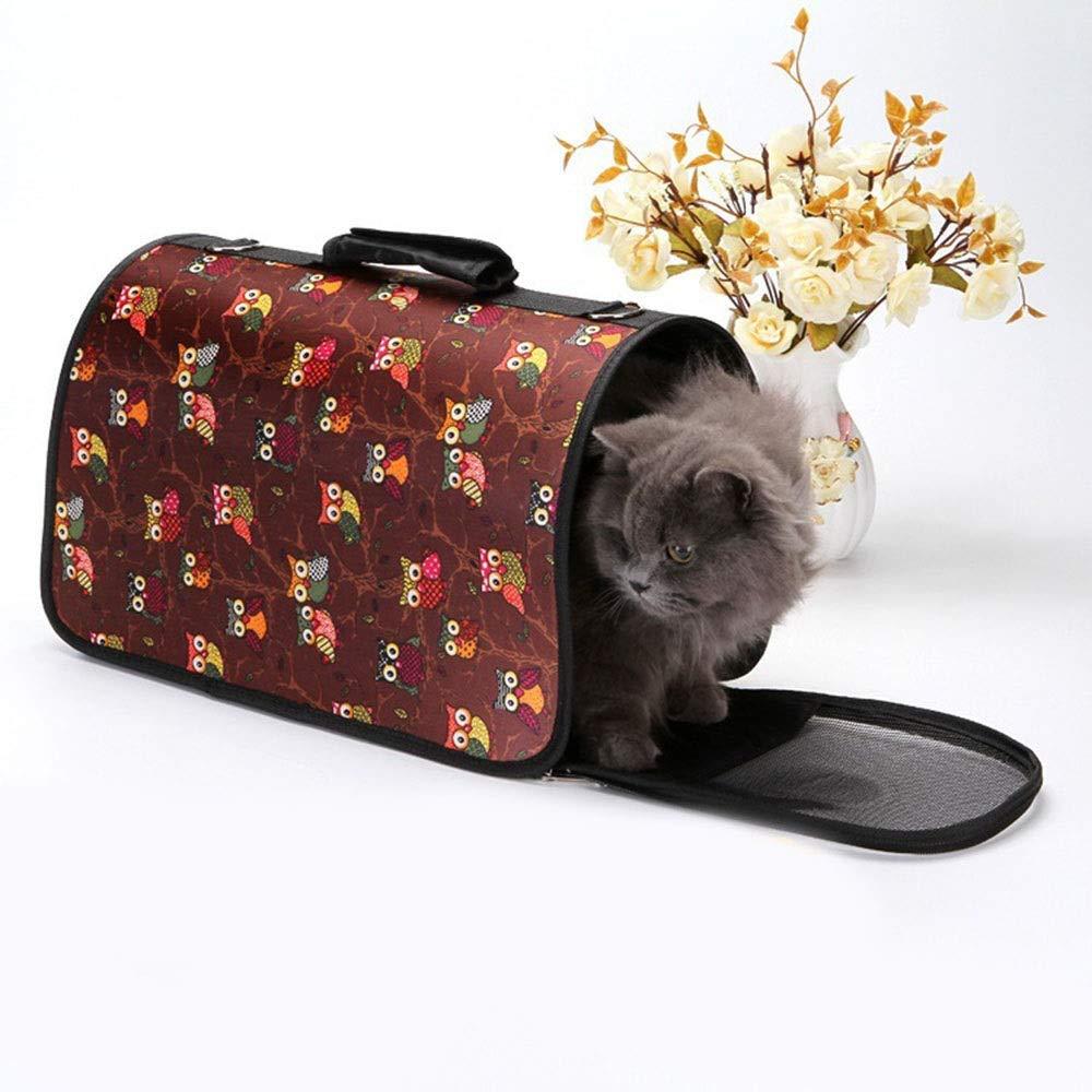 As-picture S As-picture S Hyue Portable Cat Bag Breathable Pet Bag Dog Fold Handbag Pet Out Bag (color, Size   S)