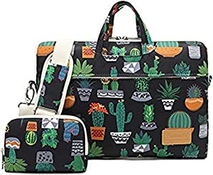 Canvaslife Celestial Being Pattern Waterproof Laptop Shoulder Messenger Bag Case Sleeve for 12 inch 13 inch Laptop and 11/12/13.3 inch