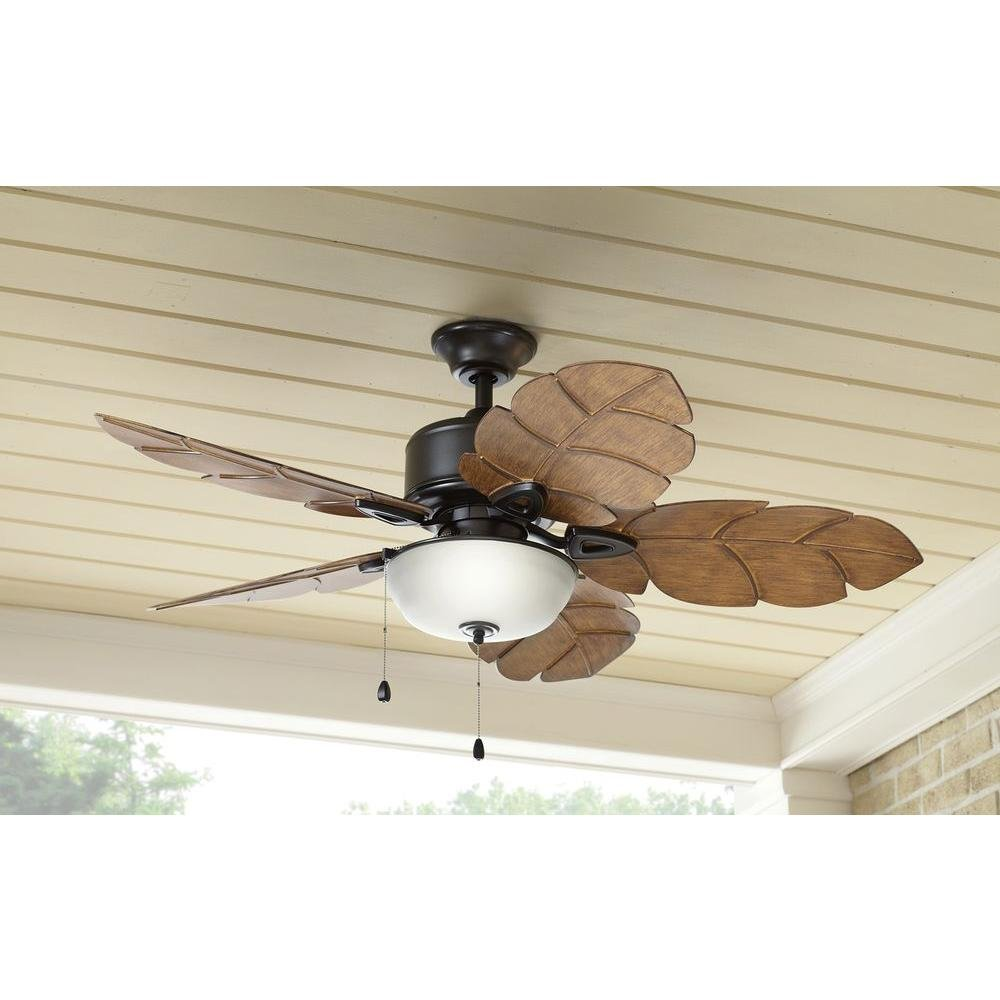 Home Decorators Collection Palm Cove 52 in. Natural Iron Ceiling Fan by Home Decorators Collection