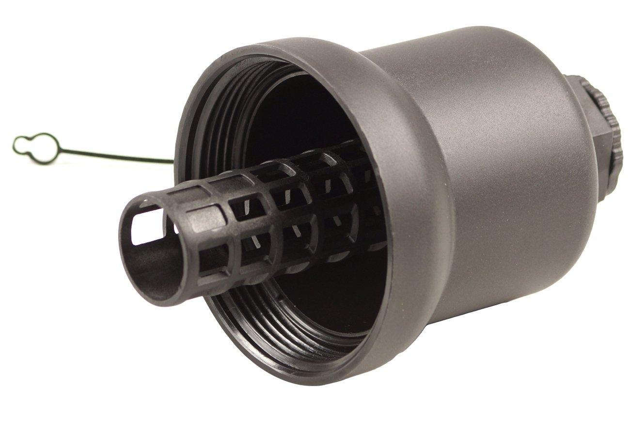 Bapmic 06D115408B Oil Filter Housing Cap Assembly for Audi Volkswagen