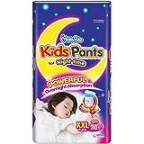 MamyPoko Kids Pants Girl, XXL, 30 count