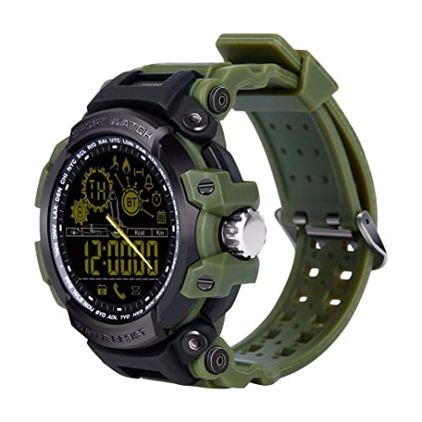 Reloj Inteligente, Reloj Impermeable para Deportes Al Aire Libre con Mensaje Push para Correr En