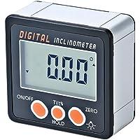 KKmoon Inclinómetro digital Transportador Base electrónico Caja 0-360