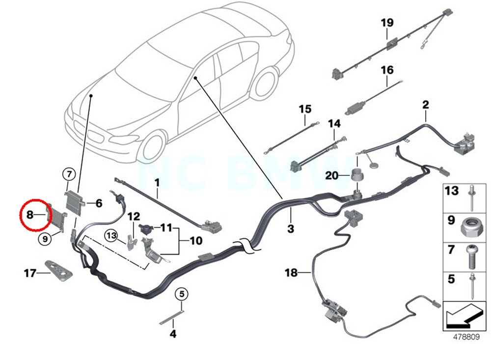 Amazon Com Bmw Genuine Front Bracket For B Distribution Point