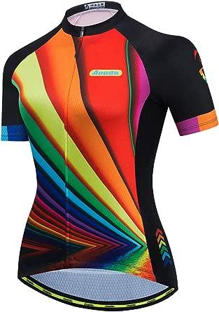 Cycling Jersey Women Aogda Bike Shirts Bicycle Jacket Biking Tights Clothing