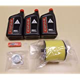 New 1995-2003 Honda TRX 400 TRX400 Foreman Complete OE Oil Service Tune-Up Kit