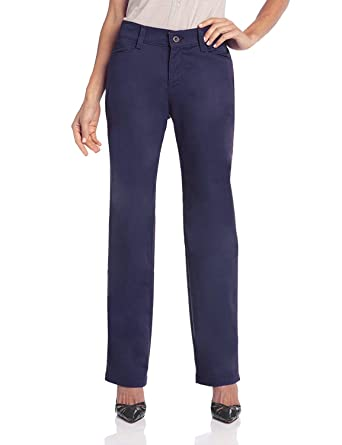 2ced2cbf LEE Women's Relaxed-Fit Plain-Front Straight-Leg Pant (Imperial, 10