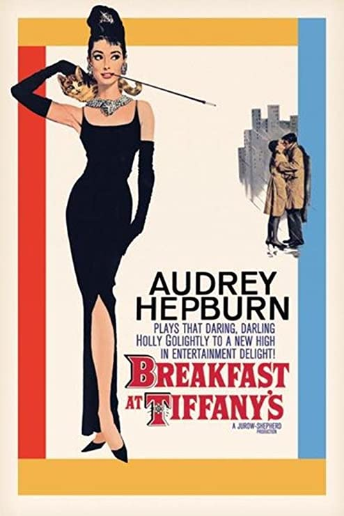 Amazon.com: Pyramid America Breakfast at Tiffanys Audrey Hepburn Holly  Golightly Romantic Comedy Movie Film Cool Wall Decor Art Print Poster  24x36: Posters & Prints