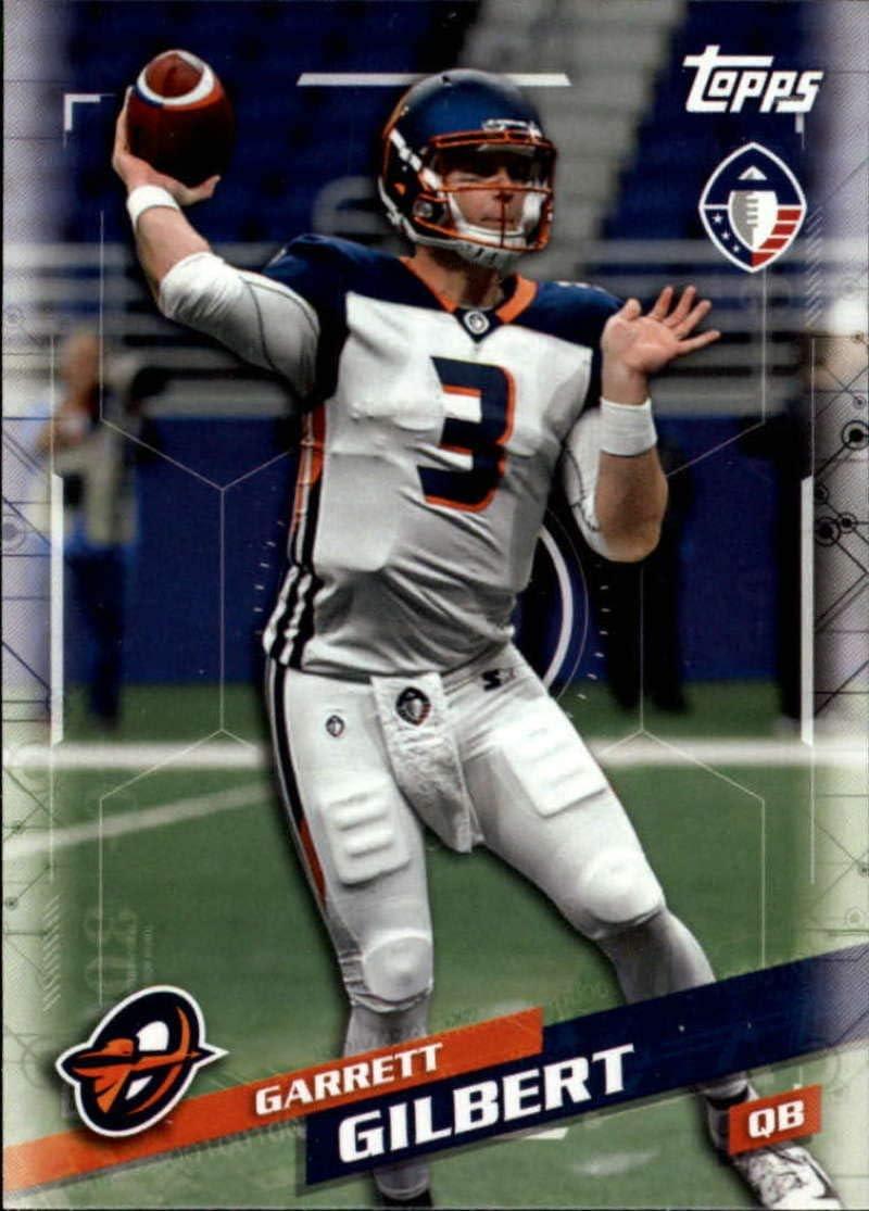 Amazon Com 2019 Topps Alliance Of American Aaf 103 Garrett Gilbert Orlando Apollos Football Trading Card Collectibles Fine Art