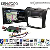 Volunteer Audio Kenwood Excelon DNX694S Double Din Radio Install Kit with GPS Navigation System Android Auto Apple CarPlay Fits 2003-2007 Honda Accord