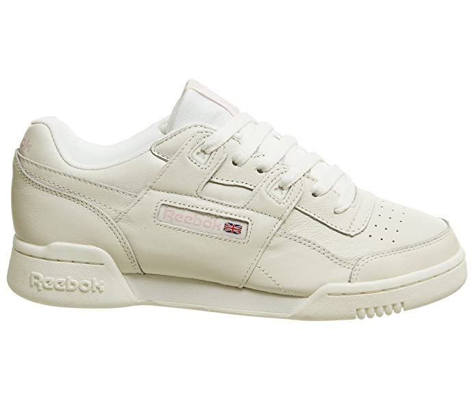 Reebok Workout Plus Trainers Pale Pink Rose Gold Exclusive