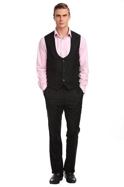 Conjunto Esencial Chaqueta Y Pantalon Negro: Amazon.es: Ropa ...
