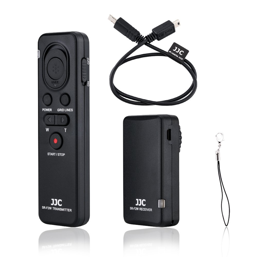 Wireless Remote Shutter Release Control Fit for Sony Camcorder FDR-AX33 AX53 AX100 AX700 HDR-CX405 CX440 CX455 CX675 CX240 CX900 or A6500 A6400 A6300 A6000 A7R III RX100 Replace Sony RMT-VP1K RM-VPR1 by JJC