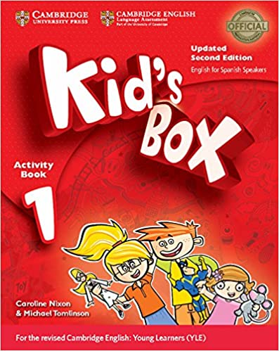 Kid's Box Level 1 Activity Book With Cd-rom Updated English For Spanish Speakers Second Edition - 9788490366080 por Caroline Nixon epub