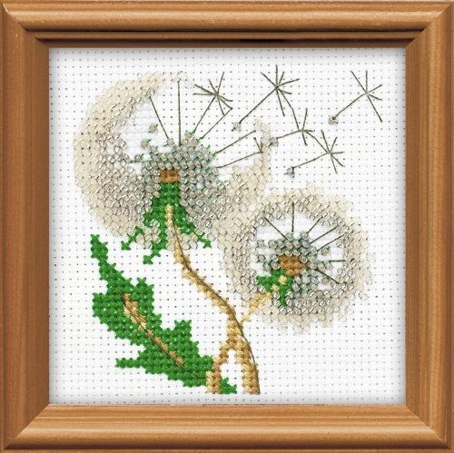Dandelion Seeds Counted Cross Stitch Kit-4