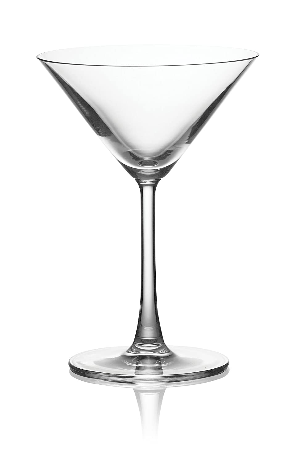 Pure and Simple Sip Martini Glass, 8-Ounce, Set of 4 04 33048