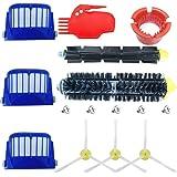 ABC life Kit Cepillos Repuestos de Accesorios para Aspiradoras iRobot Roomba Serie 600 605 610 615 616 620 625 630 631 632 639 650 651 660 670 671 680 681 691-15PCS