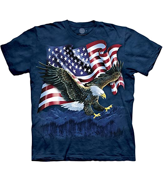 New The Mountain Allegiance Eagles T Shirt