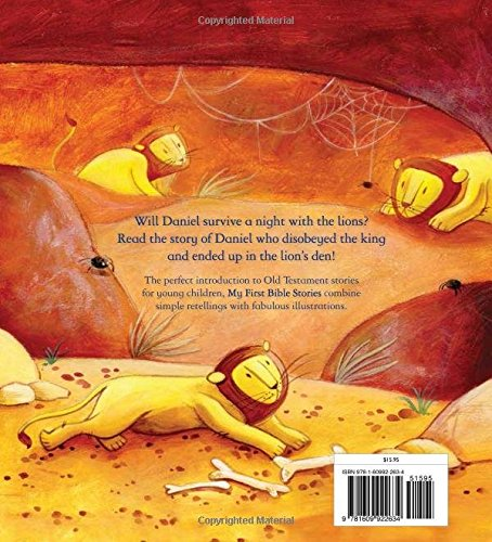 Daniel And The Lions My First Stories Katherine Sully Simona Sanfilippo 9781609922634 Com Books