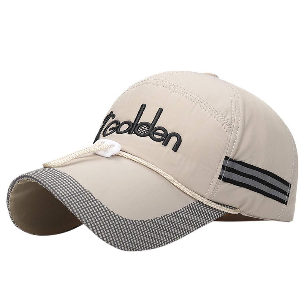 8bd495296 Amazon.com: hositor Cowboy Hat, Reflective Running Cap A Quick Dry ...