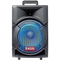 """Kaiser Bafle Recargable de 8"""" con Bluetooth y Micrófono. 6,200W PMPO"""