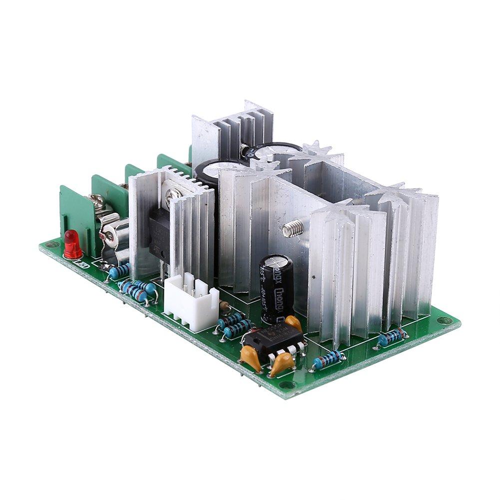 Regulador de Velocidad 20A DC10-60V PWM Motor Regulador de velocidad Interruptor Controlador M/ódulo controlador de alta potencia