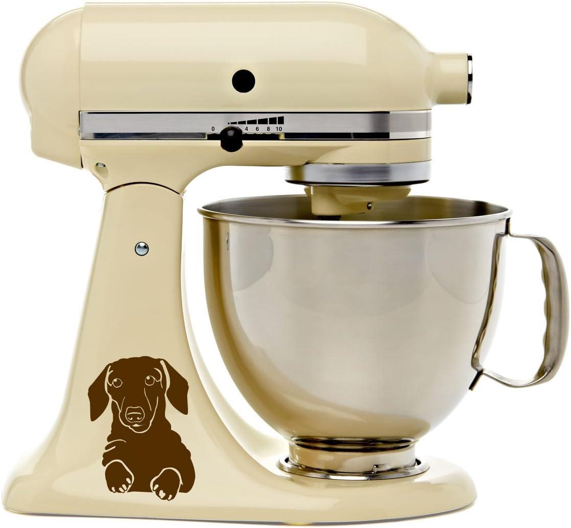 Amazon Com Dachshund Puppy Dog Kitchen Mixer Mixing Machine Decal Art Wrap Everything Else