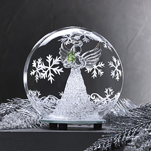 Glass Color Changing LED Angel Globe (Angels Decorations)