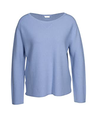 91a2d2851795 Drykorn Damen Pullover Melbi mit Kaschmir hellblau: Amazon.de ...