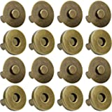 Onwon 20 Set Magnetic Snaps for Purse Magnetic Bag Fastener Clasp Magnetic Button Replacement Kit Perfect for Purse, Bag…