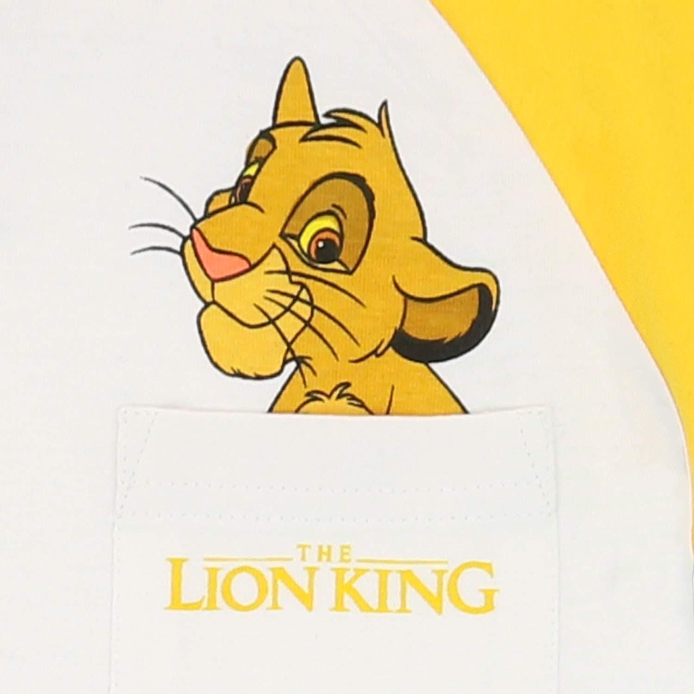 Disney Maglietta Maniche Corta per Ragazzi Lion King