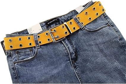 Adminitto88 Cinturones Unisex Mujer Hombre Lona Tejido Trenzado Con Hebilla Clip Automatico Para Cinturon Ajustable Elastico Suave Moda Nylon Lona Moda Vestido Casual Pantalones Jeans Accesoire Ocio Amazon Es Hogar