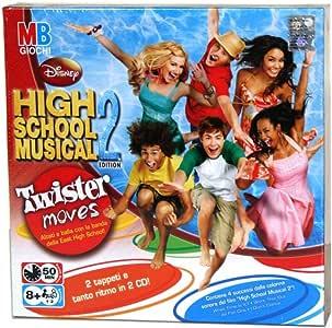 Hasbro Twister High School Musical 2, Multicolor, 40475: Amazon.es: Juguetes y juegos