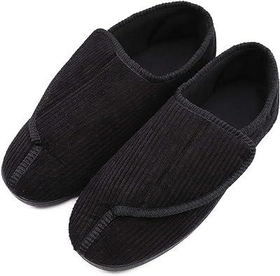 Amazon.com | Mens Diabetic Slippers