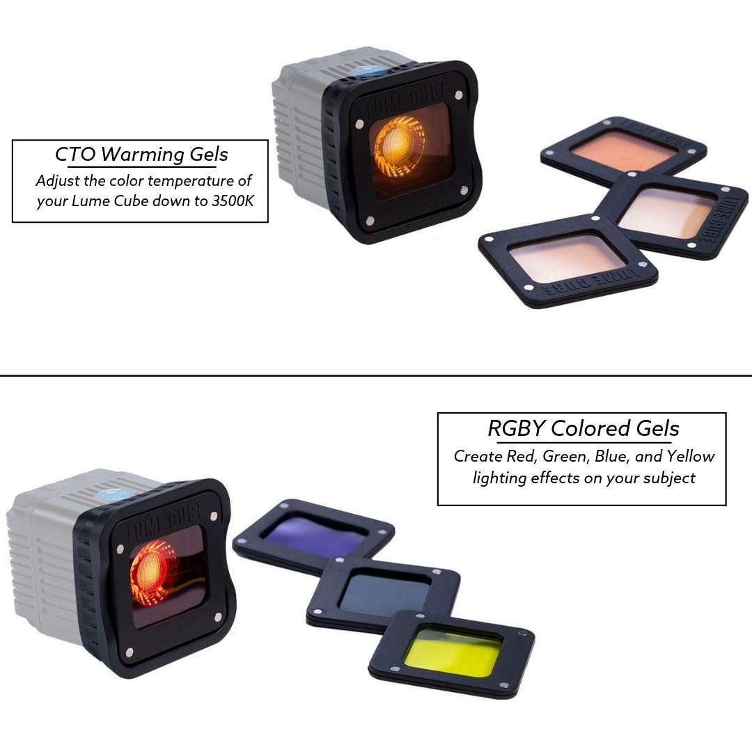 LUME CUBE - LED Light for Photo, Video, and Content Creation (Professional Lighting Kit)