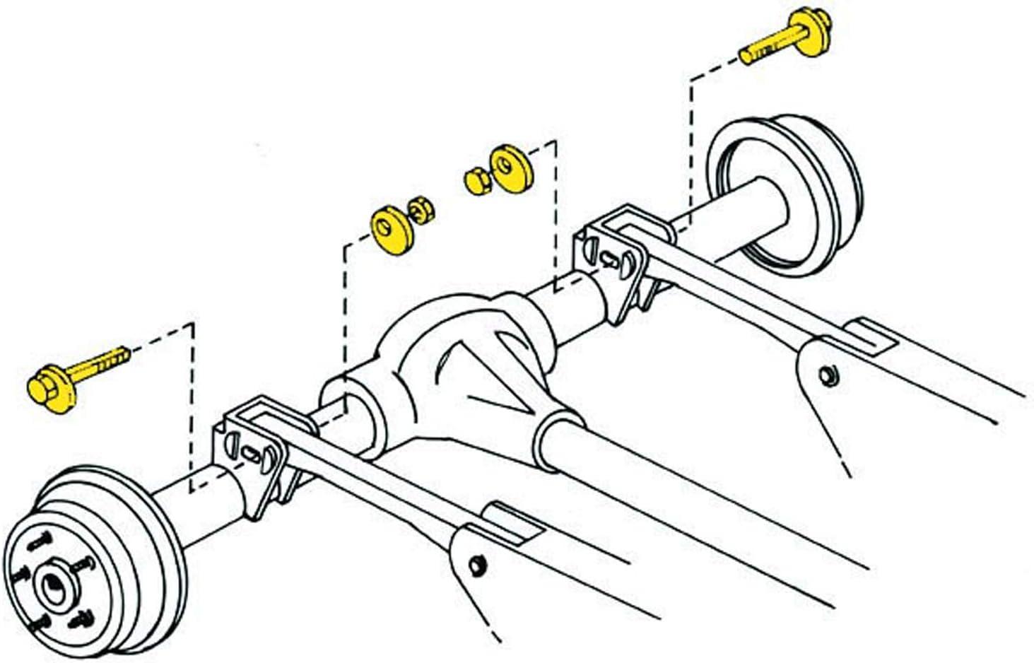Moog K100109 Cam Bolt Kit