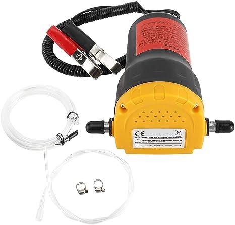 Pompa estrattore dellolio Pompa Estrattore Per Aspirazione Olio Motore e Gasolio Pompa di Aspirazione dell/'olio 60W 12V Pompa Aspirazione