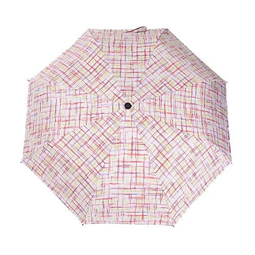 UV日焼け止め太陽傘傘折りたたみ式傘  Lattice color B078V4PBZ3