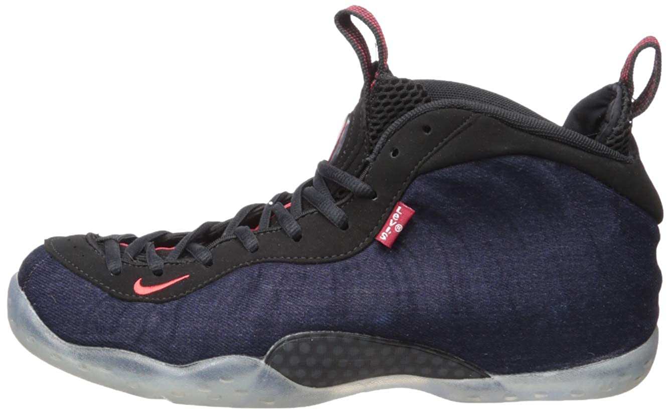 new arrival 661fa 76756 Nike Air Foamposite One \Denim\ - Obsidian/Black Mens
