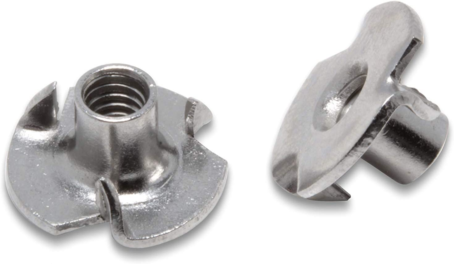 """304 18-8 Stainless S Threaded Insert Stainless T-Nuts 3//8/""""-16 Inch 25 Pack"""