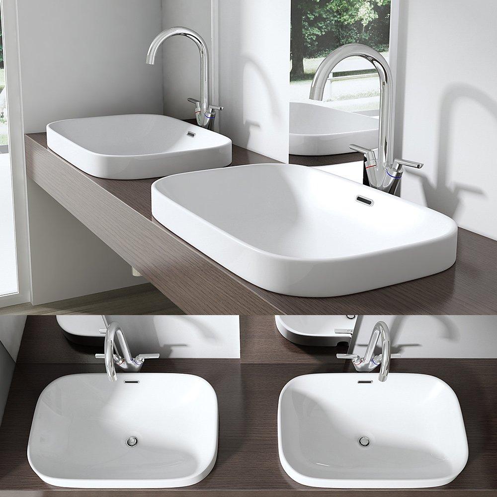 Lavabo Vasque À Poser Évier Design Bruxelles 103: Amazon.fr: Bricolage