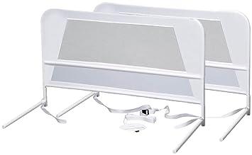 KidCo Childrens Mesh Bed Rail 2 Pack White