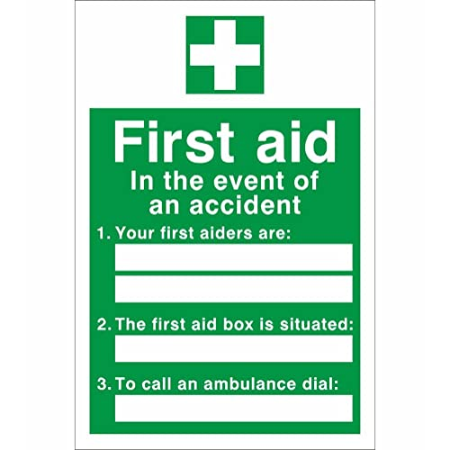 Amazon First Company: First Aid Signs: Amazon.co.uk