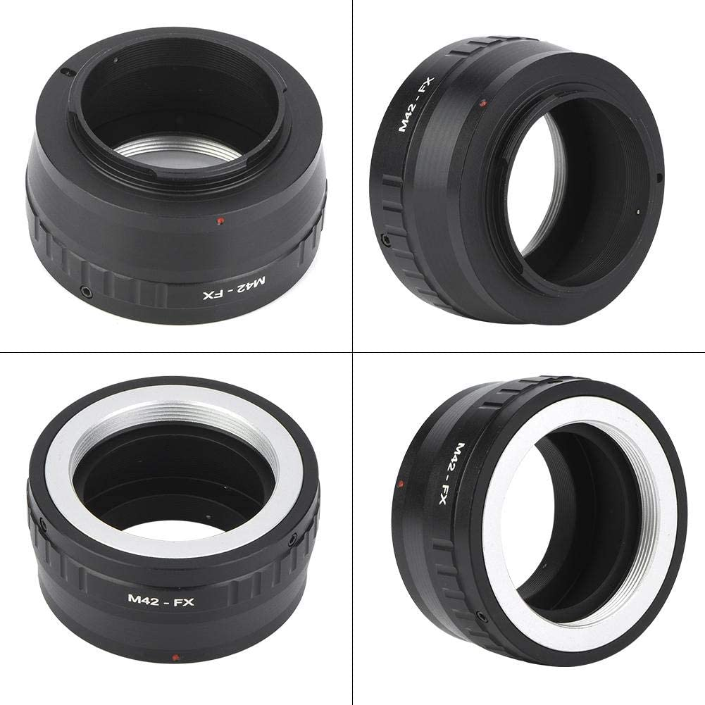 M42-FX Lens Camera Adapter Ring,Metal Lens Mount Adapter Ring for M42 Mount Lens to for Fu jifilm FX Mirrorless Camera