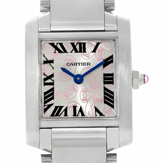 Cartier Tank Francaise cuarzo mujer reloj w51031q3 (Certificado) de segunda mano