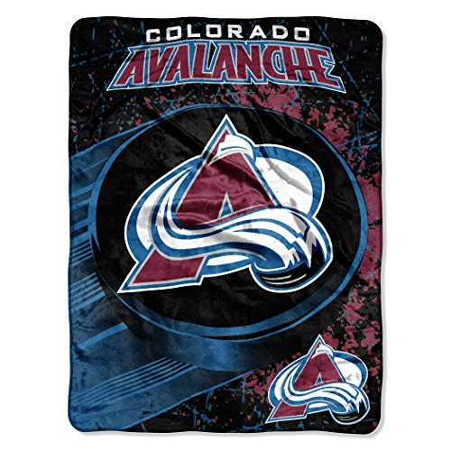 The Northwest Company Officially Licensed NHL Colorado Avalanche Ice Dash Micro Raschel Throw Blanket, 46